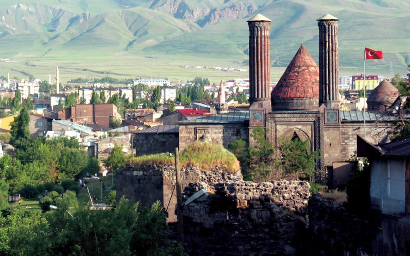 Madrasa with Double Minaret in Erzurum